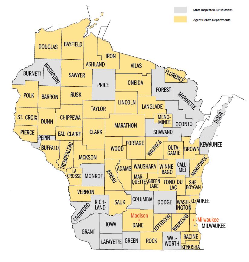 WI State Portal - map